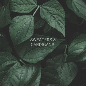 Sweaters - Sweaters and cardigans !